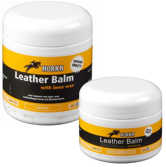Horka Leather Balm zwart