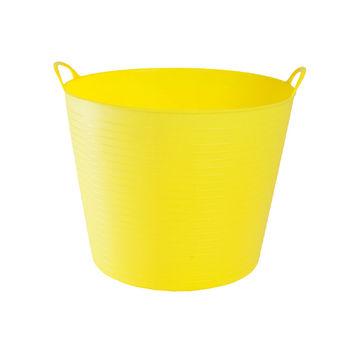 Voedermand Zofty 30 liter geel + groen