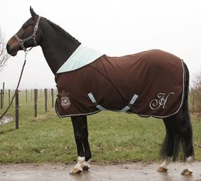 Harry's Horse Cooler deken Frevo seal brown maat 145 155