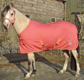 Harry's Horse Kalahari deken spiced coral maat 165