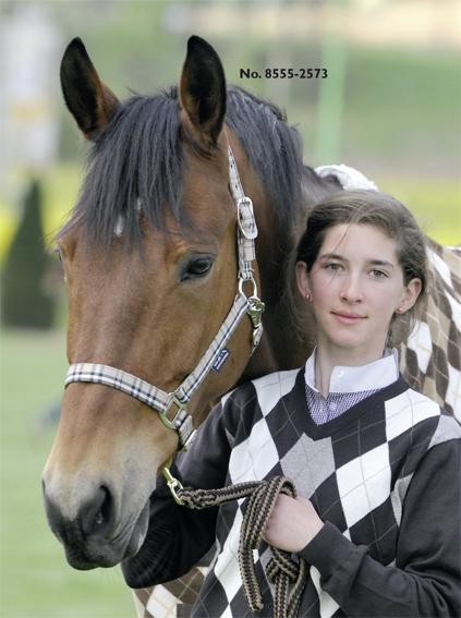 HKM halster check shet pony