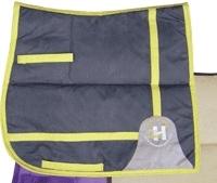 Harry's Horse Flaxen Saddle pad, VZ cob pewter