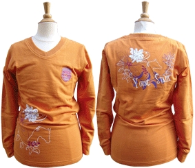 Harry's Horse Youngstar shirt amber glow