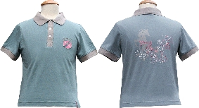 Harry's Horse Youngstars polo Smoke Blue maat 140