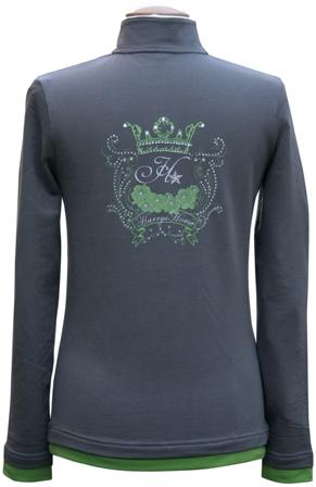 Harry's Horse Shirt Mars Dark gull gray maat 140