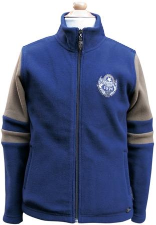Harry's Horse Fleece vest Youngstars Black Iris 128