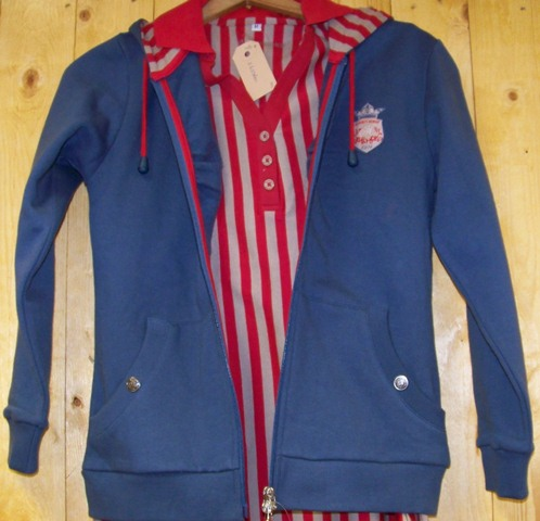 Harry´s Horse shirt stripe jester red maat 152