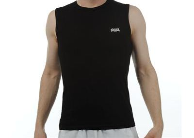 Lonsdale mouwloos shirt zwart maat s
