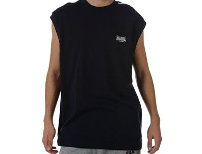 Lonsdale mouwloos t-shirt navy maat s