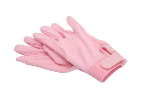 Katoenen handschoenen rose 6 10 12 xl