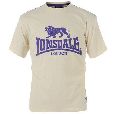 Lonsdale Flk Logo T-Shirt purple maat s