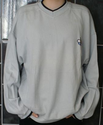 Infield sweater v hals maat 140