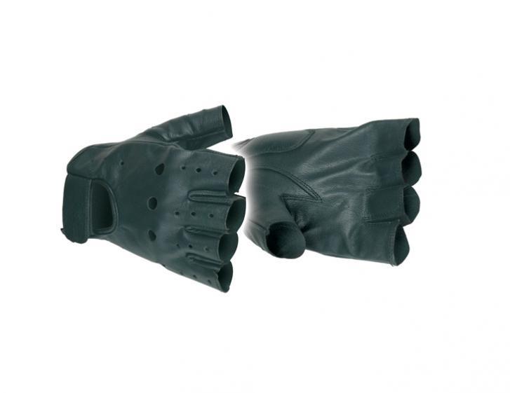 Motomod mitaine leren handschoen