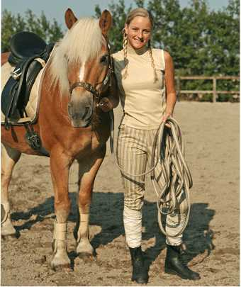 Harry's Horse Mouwloos dressuur shirt