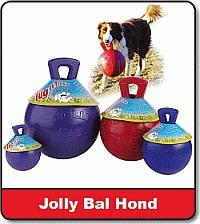 Jolly ball voor de hond 10 cm