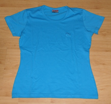 Ladies t-shirt HPS blauw