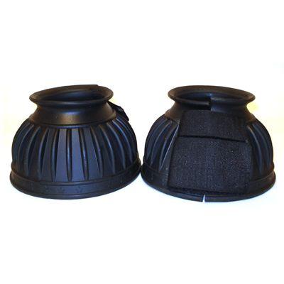 Hb rubber springschoenen  / bell boot zwart
