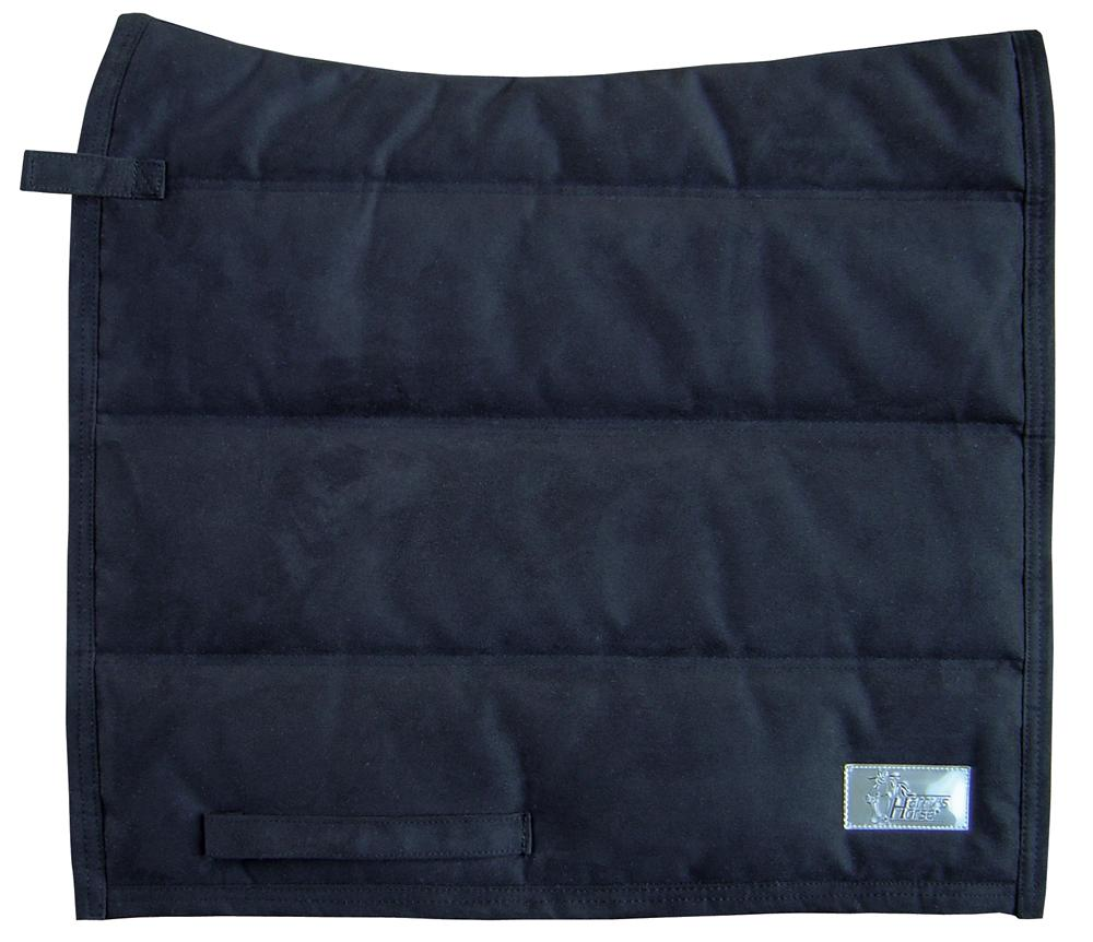 Harry's horse trs  puffer pad suede zwart