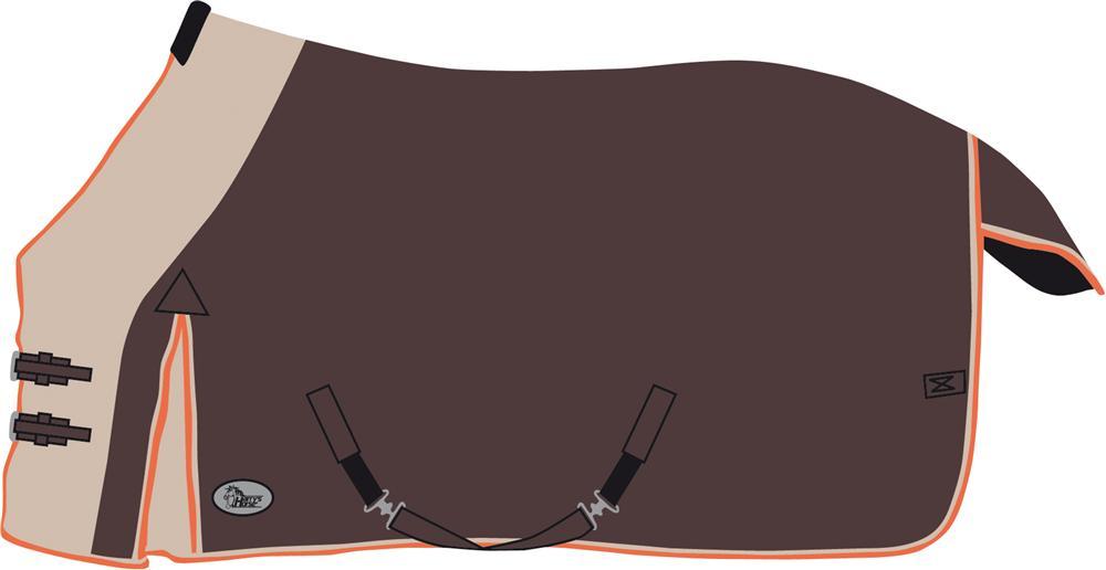 Harry's Horsezomer deken two tone ginger snap 175 185