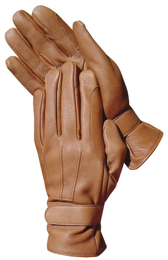Harry's Horse deerskin men handschoen tan maat 10.5