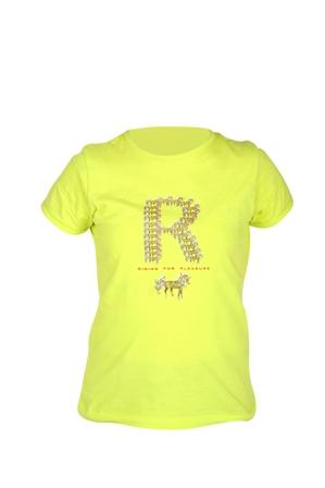 Red Horse Kinder t shirt geel maat 116