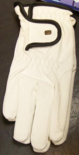 DHH Dutch sb handschoenen x-grip wit maat L