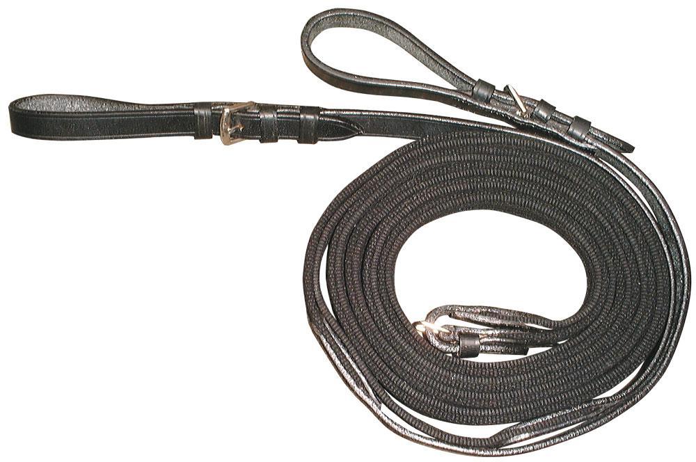 slofteugel zwart webband 1 maat