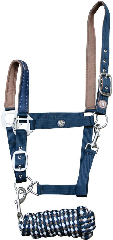 Harry's Horse Halster set full majolica blue