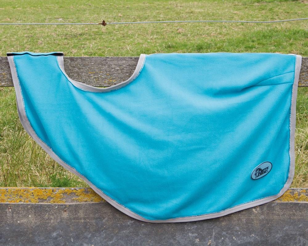 Harry's Horse uitrijdeken turquoise maat xl