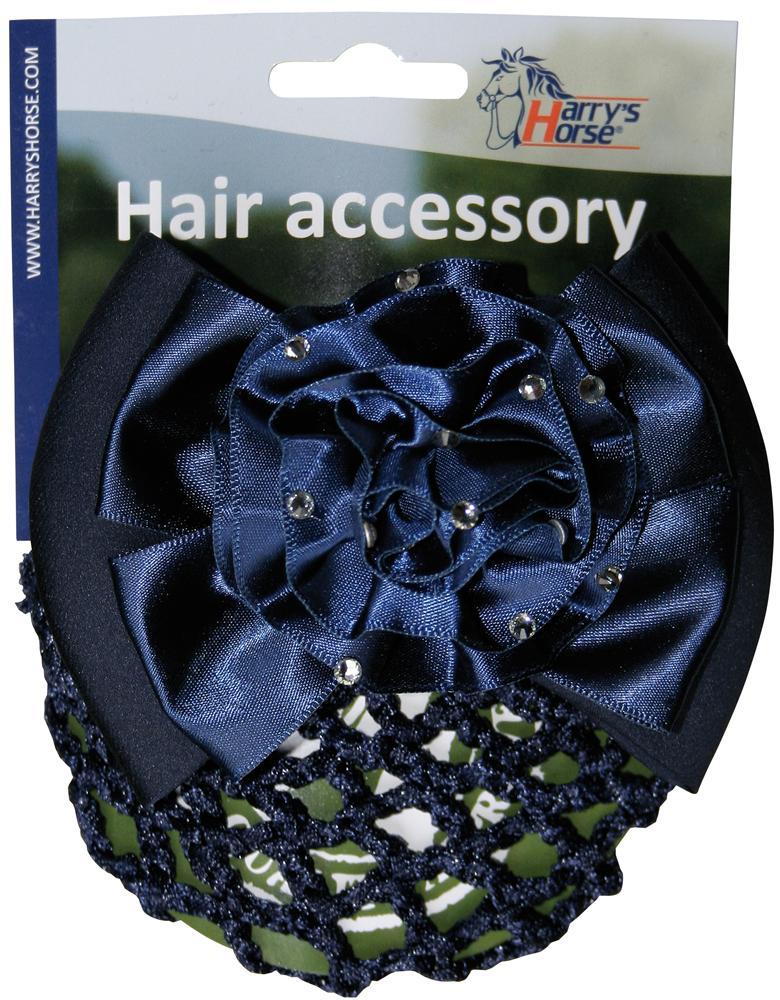 Hair Clip Strass navy