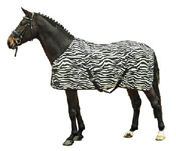 HKM Vliegendeken -Zebra- met kruissingels 185 195 205 215