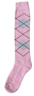 Excellent Kniekousen roze grijs wit  39/42