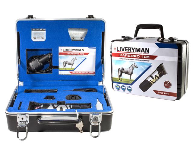 Scheermachine (/opscheermachine) Liveryman Kare Pro 100 Luxe incl 3 messen
