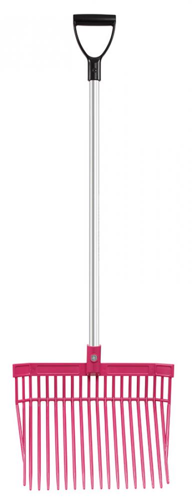 Mestvork Premium lichtgewicht 162cm  - roze, 1 maat