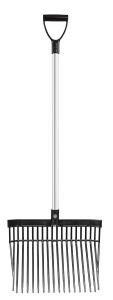 Mestvork Premium lichtgewicht 162cm  - Zwart, 1 maat