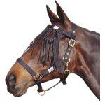 Harry's Horse vliegen frontdeel zwart