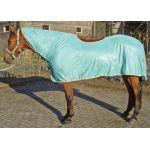 Harry's Horse vliegendeken aqua met zadeluitsparing 105 115 125 135