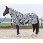 Harry's horse Vliegendeken met losse hals, zebra 185 195 215