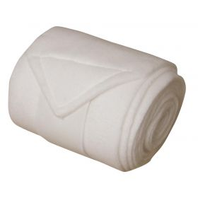 Bandages fleece 4 st wit